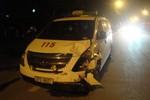 Đi cấp cứu xe 115 gây họa làm 3 người nhập viện
