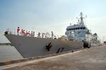 Tàu cảnh sát biển Ấn Độ thăm TP Hồ Chí Minh