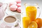 Trà xanh và nước cam giúp giảm nguy cơ mắc ung thu buồng trứng ở nữ
