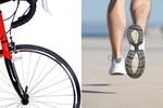 Đi xe đạp hay chạy bộ thì tốt hơn?