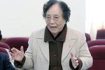 """Bà Nguyễn Thị Bình: """"Đổi mới giáo dục không chỉ ở ngành giáo dục"""""""