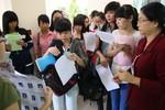 Hồ sơ đăng ký dự thi đại học, cao đẳng 2014 có xu hướng giảm