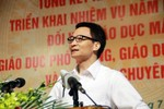 Kỳ thi quốc gia: Phó Thủ tướng Vũ Đức Đam nói gì?