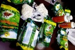 Gói chè biến thành nơi giấu ma túy