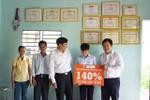 Học bổng 140% cho học sinh nghèo học giỏi