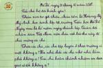 Bức thư cảm động của con gái gửi bố là bộ đội xa nhà