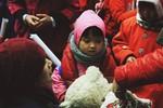Xua tan giá rét, mang tết yêu thương tới học sinh vùng cao Hòa Bình