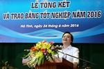 Bộ trưởng Phùng Xuân Nhạ: Phát triển giáo dục phải gắn với thực tế