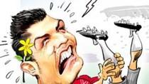 Xem 'trình' ăn vạ của Ronaldo, Rivaldo, Drogba, Busquets...