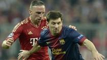 VIDEO: Messi bị Ribery biến thành gã hề