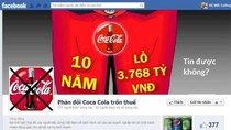 """""""Nếu trốn thuế, Coca Cola đang tự giết mình"""""""