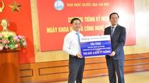 BIDV tài trợ hơn 3 tỷ đồng cho Đại học Quốc gia Hà Nội nghiên cứu khoa học