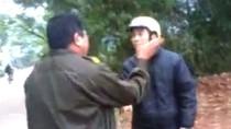 Đình chỉ công tác dân phòng xưng 'mày tao', tát dân ở Bắc Giang