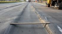 Lún nặng trên đại lộ hiện đại nhất TP.HCM
