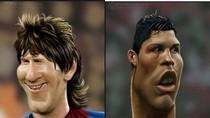 Không thể nhịn cười với gương mặt méo mó 'khó coi' của Ronaldo, Messi
