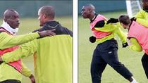 Balotelli tẩn đồng đội trước ngày tiếp đón Arsenal