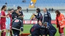 Cận cảnh cựu tuyển thủ U21 Italia đột tử trên sân bóng