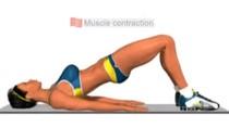 Động tác đơn giản cho bụng và đùi thon thả