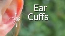 Nhật ký tỉ mẩn và lọ mọ: Tự chế ear cuffs cực xinh