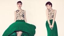 Nhật ký tỉ mẩn và lọ mọ: May váy maxi chỉ trong 5 phút
