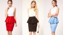 Nhật ký tỉ mẩn và lọ mọ: Chỉ 10 phút với một chiếc váy peplum