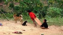 Trẻ vùng cao tím tái trong cái rét
