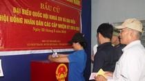 Gần 97% cử tri tỉnh Quảng Bình đã đi bỏ phiếu