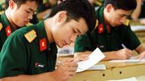 Chỉ tiêu tuyển sinh vào 21 trường quân đội
