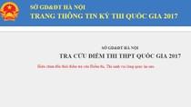 Chiều nay (6/7), học sinh Hà Nội có thể tra cứu điểm thi quốc gia