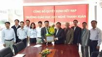 Hiệp hội kết nạp Trường Giáo dục Dạy nghề Thanh Xuân