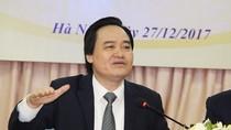 Bộ trưởng Nhạ nêu quyết tâm, 2018 sư phạm chỉ tuyển những học sinh ưu tú nhất