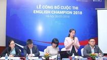 Triết lý giáo dục khai phóng là nội dung của cuộc thi English Champion 2018