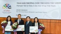Duyệt logo cho kỳ thi Olympic Vật lý Châu Á lần thứ 19 năm 2018
