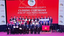 Việt Nam giành 4 Huy chương Vàng Vật lý châu Á 2018