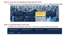 Hà Nội cho thử nghiệm đăng ký tuyển sinh trực tuyến vào lớp 6