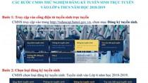 Những lưu ý quý hơn vàng khi đăng ký tuyển sinh lớp 1, lớp 6 tại Hà Nội