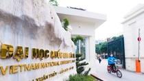 Điểm chuẩn năm 2018 vào các khoa, trường thuộc Đại học Quốc gia Hà Nội