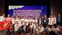 Việt Nam đạt thành tích cao nhất trong lịch sử dự thi Toán và Khoa học quốc tế