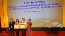 Đoạt cú đúp Huy chương, Nguyễn Phương Thảo được nhận Huân chương Lao động