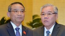 Tờ trình của Thủ tướng về miễn nhiệm ông Trương Quang Nghĩa và ông Phan Văn Sáu