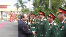 Thủ tướng đánh giá cao vai trò của chiến sĩ tại Quân khu 5