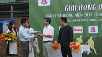 """Giải bóng đá """"Cup Number One"""" của những người làm báo tại Thủ đô Hà Nội"""
