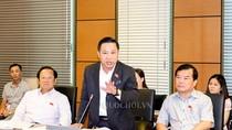 """Đại biểu Lưu Bình Nhưỡng nói ông Quy thuộc diện """"sổ đen, sao lại có trong sổ đỏ"""""""