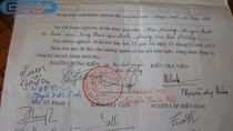 Công bố kết luận pháp y vụ mang quan tài qua các phố ở Vĩnh Phúc