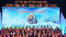 Vinh danh 63 nông dân Việt Nam xuất sắc năm 2017