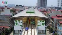 Dự án đường sắt Cát Linh – Hà Đông lùi tiến độ sang cuối năm 2018