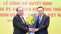 Tân Chủ tịch Hội đồng Thành viên PVN nhận việc
