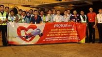 Chuyến bay đặc biệt của Vietjet đến với nạn nhân động đất sóng thần Indonesia