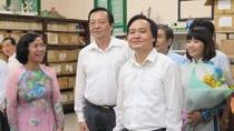 Bộ trưởng Phùng Xuân Nhạ: Sẽ rà soát lại việc áp dụng bỏ chấm điểm tiểu học