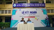 Trường Đại học Hoa Sen ký hợp tác giáo dục với Trường Nguyễn Thị Diệu